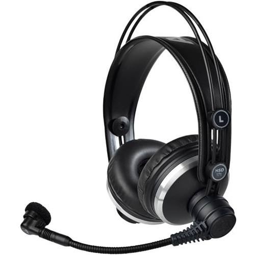 AKG Professional Headset with Dynamic Microphone