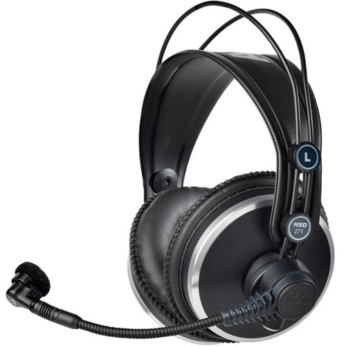 AKG Professional Headset with Dynamic Microphone & Auto HP Mute