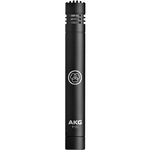 AKG P170 Small-Diaphragm Condenser Microphone (Black)