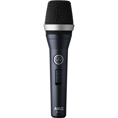 AKG D5 CS Professional Dynamic Vocal Microphone with On/Off Switch