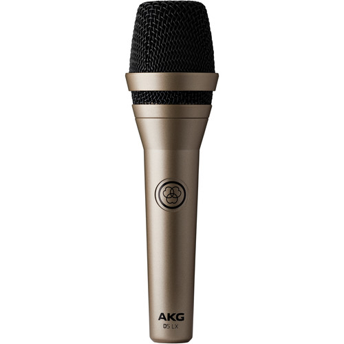 AKG D5 LX Professional Dynamic Vocal Microphone (Champagne)