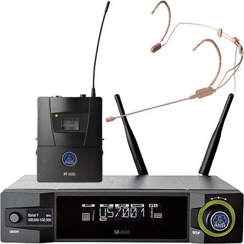 AKG WMS4500 HC577 Set Reference Wireless Microphone System (BD1: 650.1 to 680.0 MHz, 50 mW)