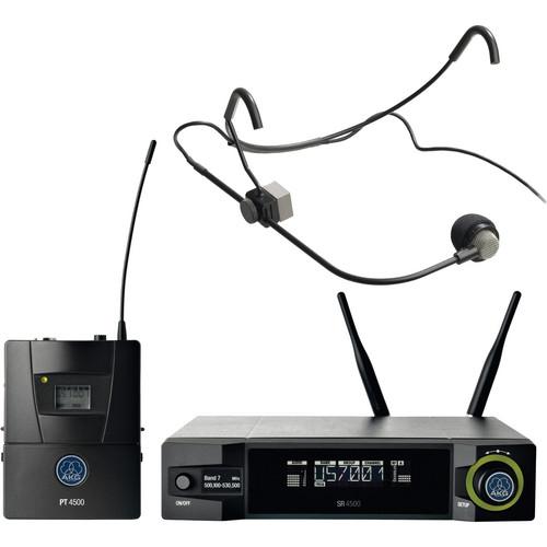 AKG WMS4500 CM-311 L Wireless Head-Worn Condenser Microphone Set (Band 1: 650 - 680 MHz)