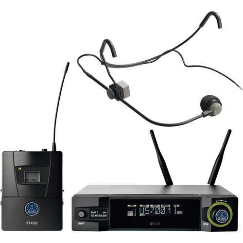 AKG WMS4500 CM-311 L Wireless Head-Worn Condenser Microphone Set (Band 7: 500 - 530 MHz)