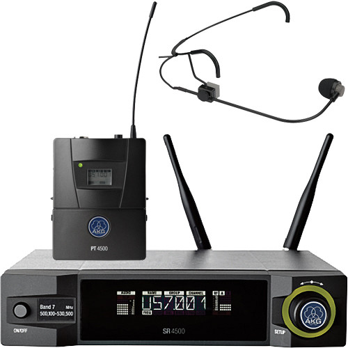AKG WMS4500 CM311 Set Reference Wireless Microphone System (BD1: 650.1 to 680.0 MHz, 50mW)