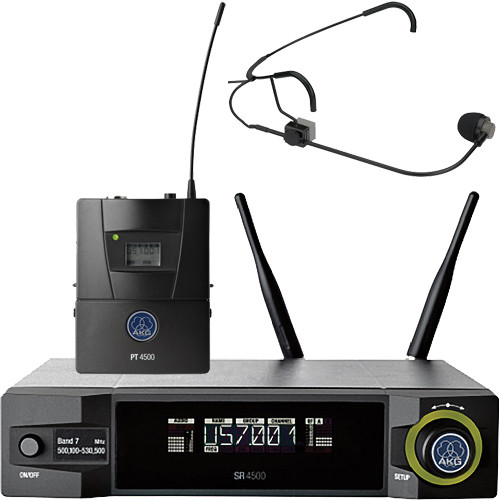 AKG WMS4500 CM311 Set Reference Wireless Microphone System (BD7: 500.1 to 530.5 MHz, 50mW)