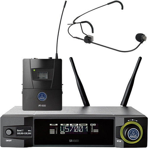 AKG WMS4500 CM311 Set Reference Wireless Microphone System (BD8: 570.1 to 600.5 MHz, 50mW)
