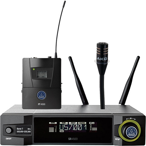 AKG WMS4500 CK77 Instrument Set (BD1: 650.1 to 680.0 MHz, 50 mW)