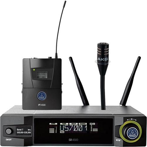 AKG WMS4500 CK77 Instrument Set (BD8: 570.1 to 600.5 MHz, 50 mW)