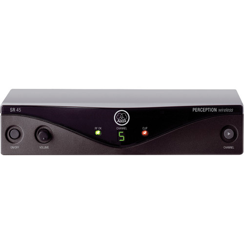 AKG Perception SR 45 Wireless Receiver - Frequency A / 530 - 560 MHz