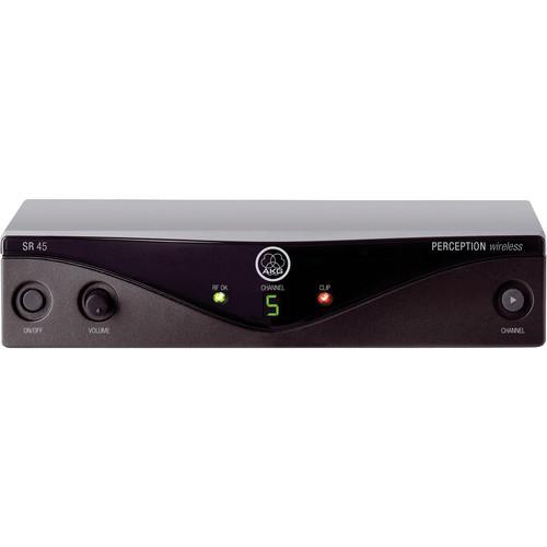 AKG Perception SR 45 Wireless Receiver - Frequency U2 / 614 - 634 MHz