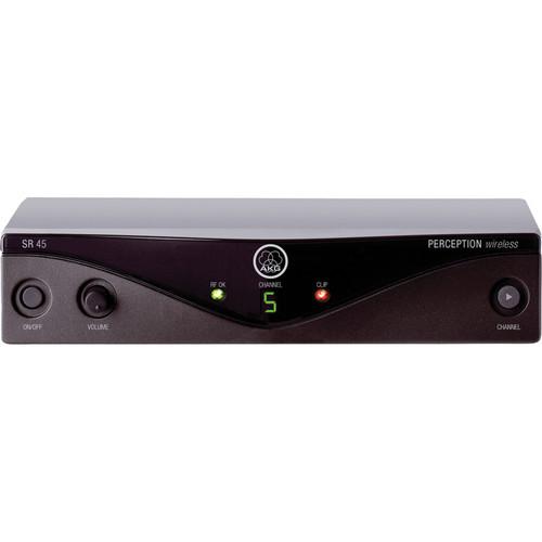 AKG SR45 Perception UHF Wireless Receiver (Band M: 823.1 - 831.9 MHz)