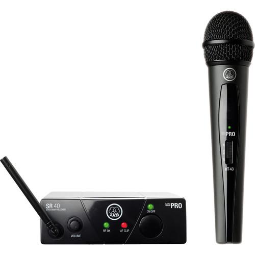 AKG WMS40 Mini Single Vocal Set Wireless Microphone System (Band: B)
