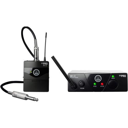 AKG WMS40 Mini Single Instrumental Set Wireless Microphone System (Band: C)