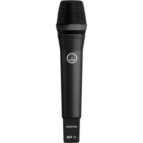 AKG DHT70 Professional Digital Wireless Handheld Transmitter with P5 Dynamic Capsule (Black)