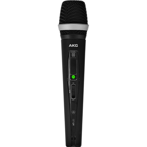 AKG HT420 Professional Wireless Handheld Transmitter (U2: 614.10 to 629.90 MHz)