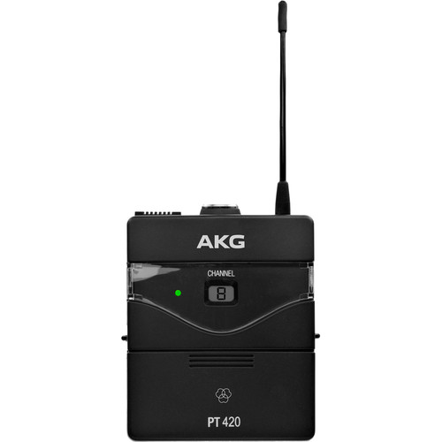 AKG PT420 Wireless Bodypack Transmitter (Band U2: 614.100 - 629.900 MHz)