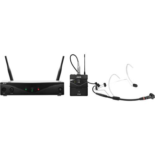 AKG WMS420 UHF Wireless Headworn Microphone System (Band A: 530.025 to 559.00 MHz)