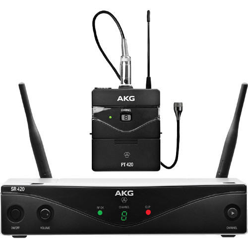 AKG WMS420 UHF Wireless Presenter System (Band U2: 614.1 to 629.9 MHz)