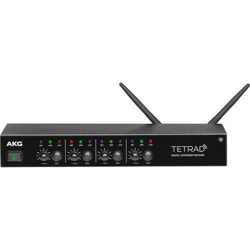 AKG DSRTetrad Digital Wireless 2.4 GHz Multichannel Receiver