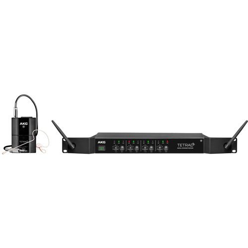 AKG DMS Tetrad - Digital Wireless Performer Set