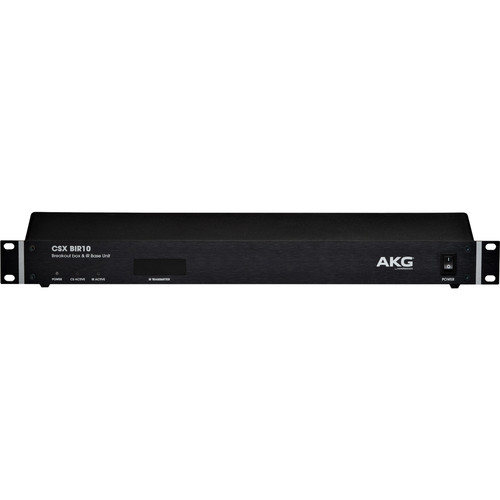 AKG CSX BIR10 10-Channel Breakout Box and Infrared Base Unit