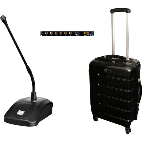 AKG Demo Trolley DMM with CGN321 STS Mics, DMM6 Mixer, and XLR Cables