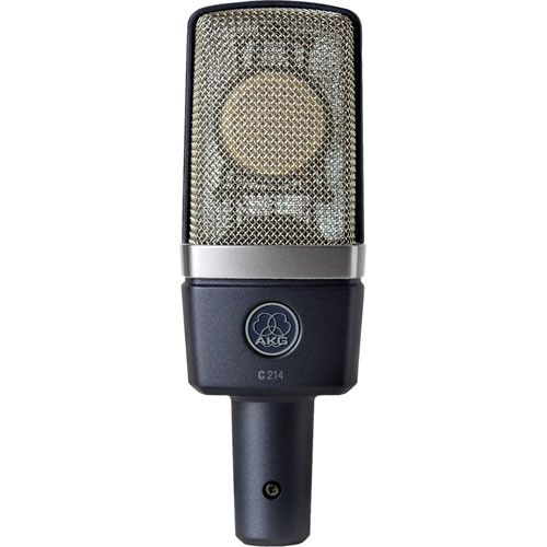 AKG Large-Diaphragm Condenser Mic and Thunderbolt Audio Interface with Powered Plug-Ins Kit