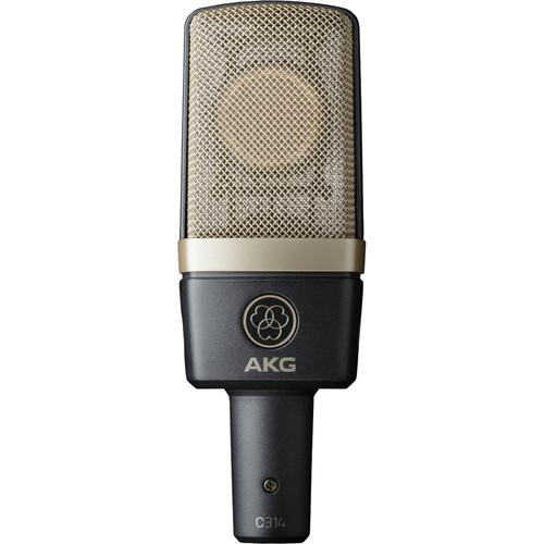 AKG C314 Multi-Pattern Condenser Microphone
