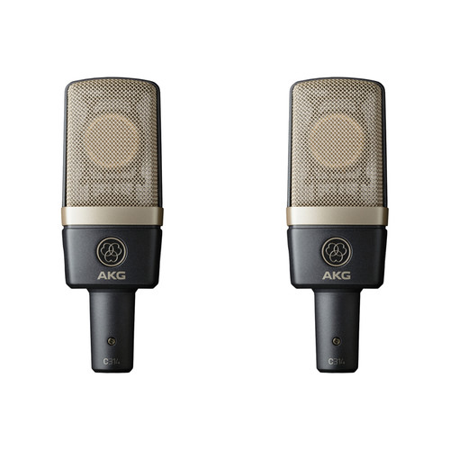AKG C314 Multi-Pattern Condenser Microphone (Stereo Matched Pair)