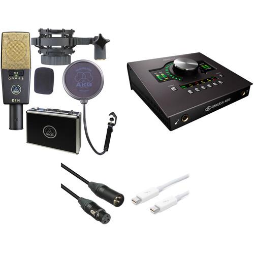 AKG C 414 XL II and Apollo Twin DUO Recording Kit