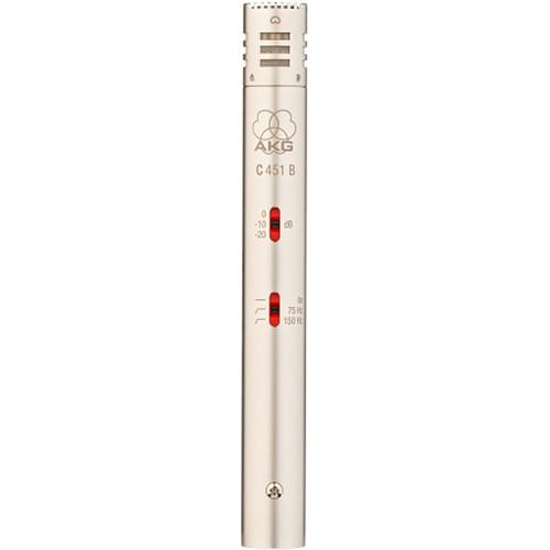 AKG C541 B Pencil Condenser Microphone Pair Kit