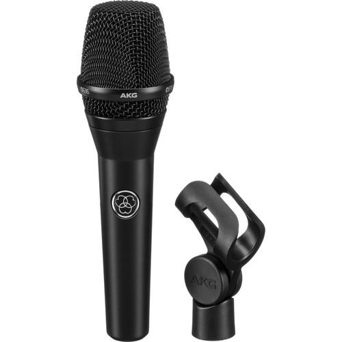 AKG C636 Master Reference Condenser Vocal Microphone (Matte Black)