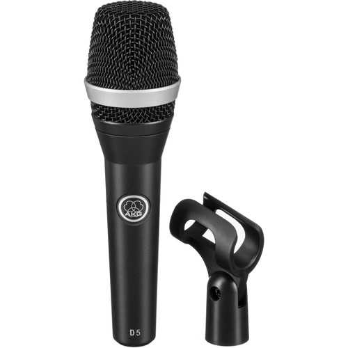 AKG D5 Handheld Vocal Microphone Live Performance Pack