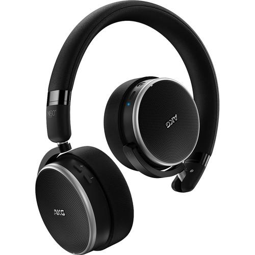 AKG N60NC Noise-Canceling Bluetooth Headphones (Black)