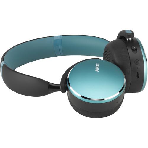 AKG Y500 Wireless On-Ear Headphones (Green)