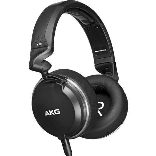 AKG K182 - Professional Closed-Back Monitor Headphones