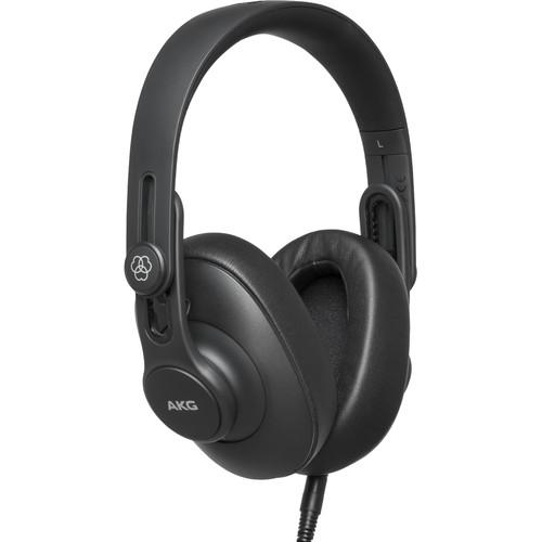 AKG K361 Over-Ear Oval Closed-Back Studio Headphones