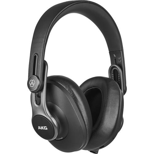 AKG K371-BT Professional Bluetooth Closed-Back Studio Headphones