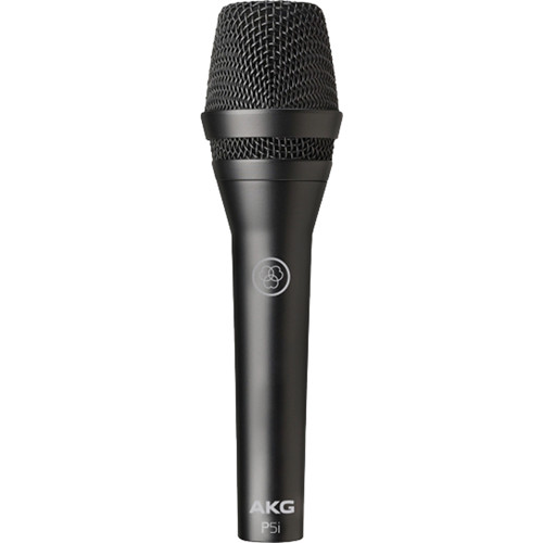 AKG P5i Dynamic Vocal Handheld Mic with Harman Connected PA Compatibility