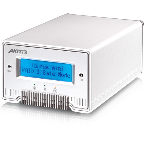 AkiTio Taurus Mini Super-S3 LCM External Enclosure