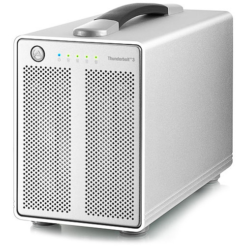 AkiTio Thunder3 Quad 4-Bay Thunderbolt Enclosure