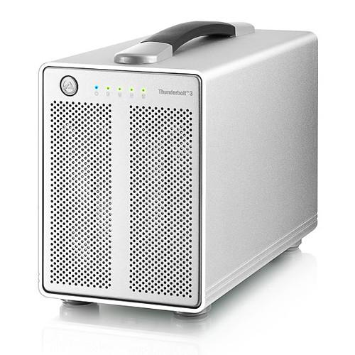 "AkiTio 4-Bay 2.5"" External RAID Storage Enclosure"