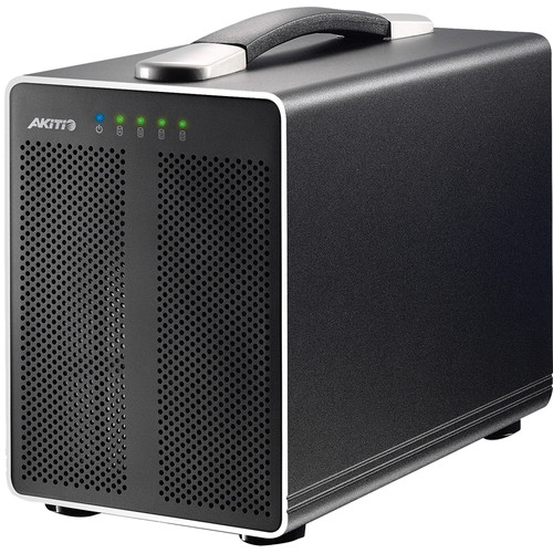 Akitio Thunder2 Quad External 4-Bay Enclosure