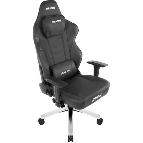 AKRacing Masters Series Max Gaming Chair (Black)