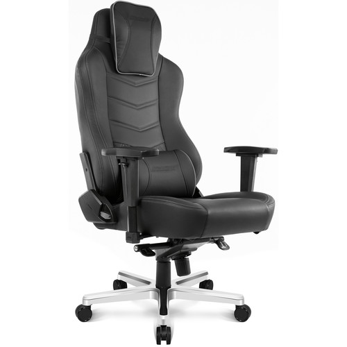 AKRacing Office Series Onyx Deluxe Leather Computer Chair (Black)