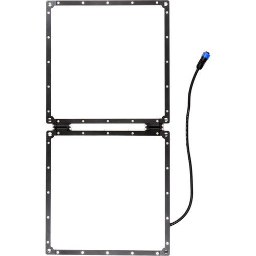 Aladdin Bi-Fold2 Bi-Color LED Panel with Gold Mount (1 x 2')