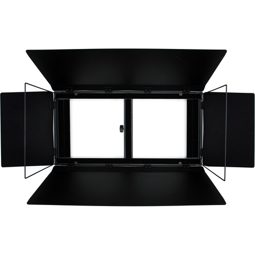 "Aladdin Barn Doors2 with Frame and Diffuser for 24x12"" BI-FLEX2 Panel Light"