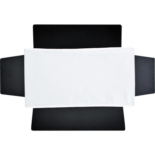 """Aladdin Softbox Diffuser2 for use with 24 x 12"""" BI-FLEX2 Barndoors (White Interior)"""