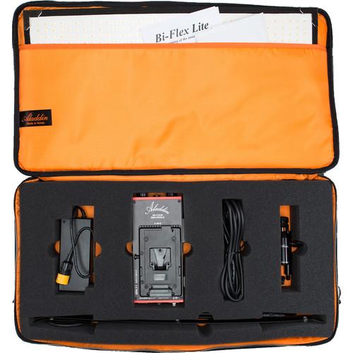 Aladdin Bi-Flex2 Bi-Color V-Mount Kit2 with Case